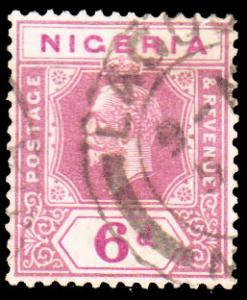 Nigeria Scott 7 Unused hinged.