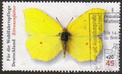 Germany #B961 used - butterfly