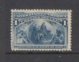 #230 1c Columbus (Mint NEVER HINGED) cv$35.00