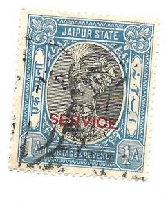 India Jaipur State 1931 - Scott #O14