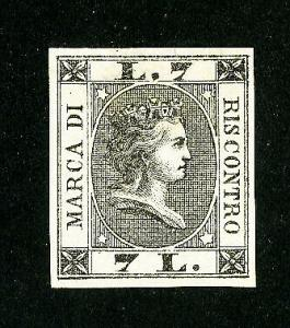 Italy Stamps Color Proof Year 1866 Very Scarce