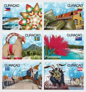 Curacao 2020 Christmas, Navidad 6v MNH