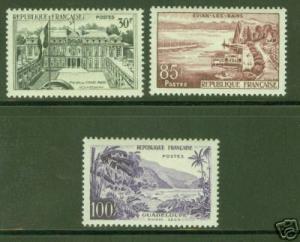 FRANCE Scott 907-9 MNH** complete stamp set CV $27.00
