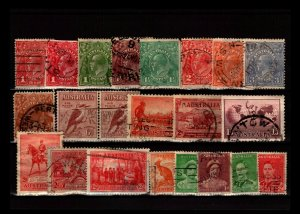 Australia 22 Used, with faults - C2787
