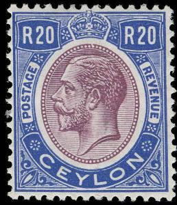 Ceylon Scott 258 Gibbons 367 Mint Stamp