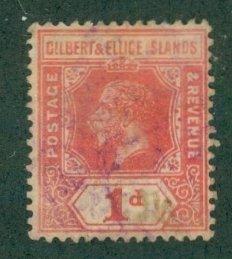 Gilbert & Ellice Islands 15 USED CV $15.50 BIN $7.00