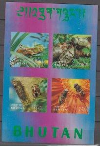 COLLECTION LOT # 2851 BHUTAN #101Ch 3D 1969 CV=$22.50