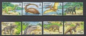 Solomon Is 1062-69 MNH 2006 Prehistoric Animals (ap7310)