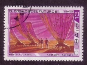 Cuba Sc. # 1968 CTO Space