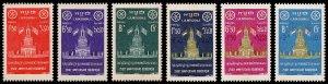 Cambodia Scott 62-64, B5-B7 (1957) Mint NH VF Complete Set C