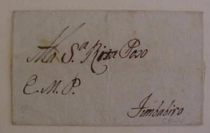 COLOMBIA  1825 TO FIMBABIRO on FULL WRAPPER