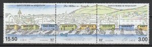 2000 St. Pierre and Miquelon - Sc 699 - MNH VF - 1 pr - Boathouses in November