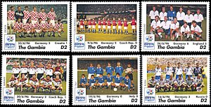 Gambia 1808-1813, MNH, Germany's Victory in European Football Championship