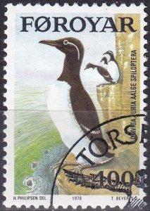 Faroe Islands #38 F-VF Used