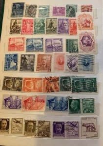 STAMP STATION PERTH Italy Collection ) in Album 700+ stamps Mint/Hinged