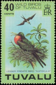 Tuvalu #73-76, Complete Set(4), 1978, Birds, Never Hinged