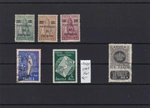 ANGOLA MOUNTED MINT AND   USED  STAMPS  REF R 2794