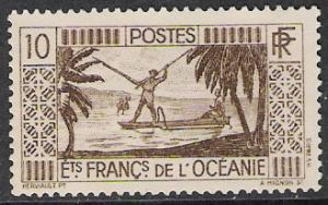 French Polynesia #85 Spear Fishing NG