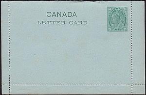 CANADA QV 2c lettercard unused.............................................31715