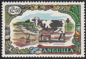 Anguilla 1970 MH Sc #112 $2.50 Cow, goat Livestock