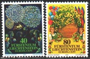 Liechtenstein. 1981. 764-65. Volkler, europa-sept. MNH.