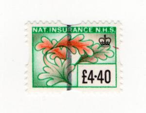(I.B) Elizabeth II Revenue : National Insurance £4.40