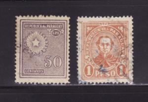 Paraguay 284, 289 U Various