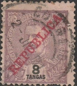 Portuguese India, #311 Used From 1913-1915