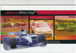 Australia Post Motor Racing Mint Never Hinged Stamps Booklet Ref 28550