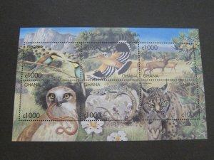 Ghana 1999 Sc 2129 Bird set MNH
