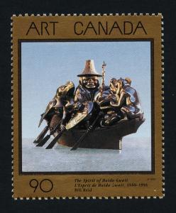 Canada 1602 MNH The Spirit of Haida Gwaii, Art