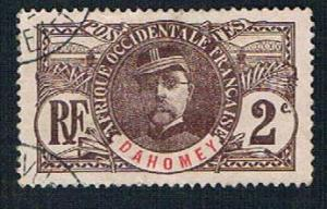 Dahomey 18 Used General Faidherbe (BP08620)