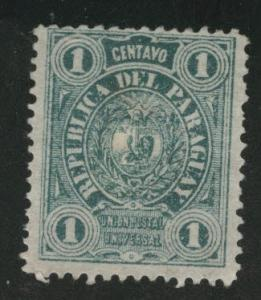 Paraguay Scott 20 MNG hing remnant