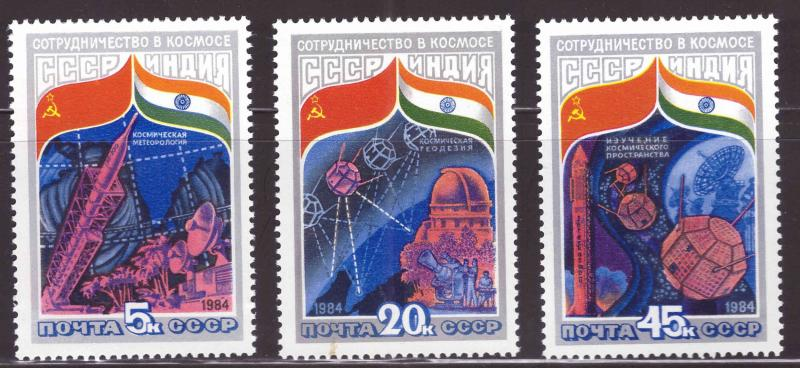 Russia Scott 5241-5243  MNH** space science set
