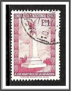 Chile #C262 Airmail Used