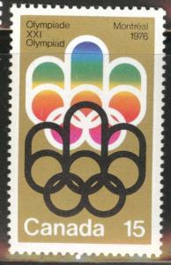 Canada Scott 624 MNH** 1973  Olympic stamp