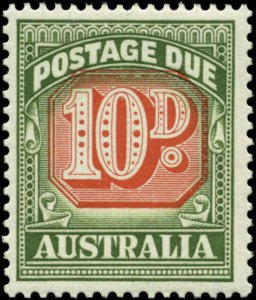 Australia Scott #J93 Mint Never Hinged  Type II