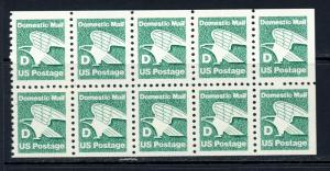 USA 2113a Mint (NH) Booklet Pane of 10