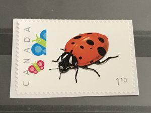 Canada Post Picture Postage * Lady Bug * *$1.10* denomination
