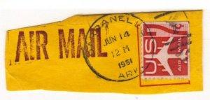 USA uncommon pmk 1961 Dardanelle Ark.
