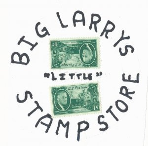 "Big Larrys ""little"" Stamp Store"