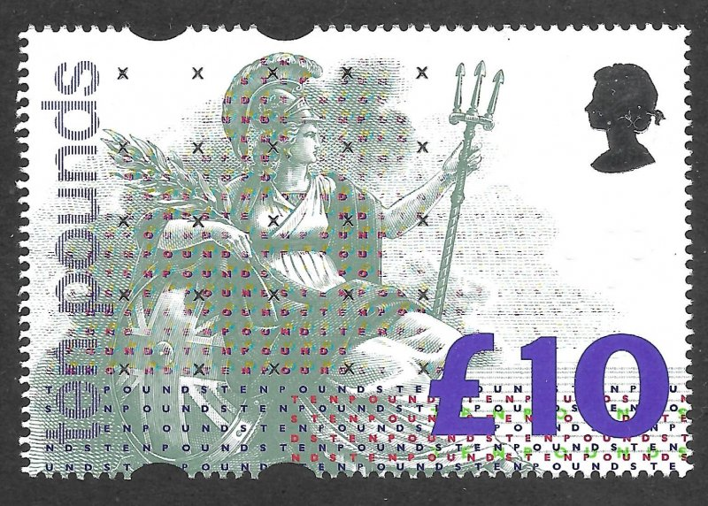 Doyle's_Stamps: MNH XF-S 1993 British L10 Britannia QEII Scott  #1478**  cv $27+