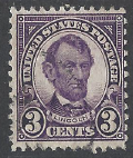 United States Scott # 555 Used