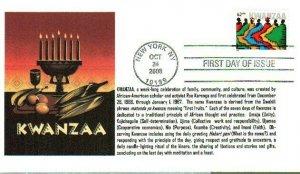 6° Cachets 4373 Kwanzaa 2008