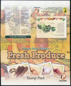 Papua New Guinea 2019. Fresh Produce (I) (MNH OG) Set of 4 stamps