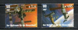 United Nations - Vienna  409-410 MNH