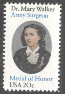 USA Scott 2013 MNH**  Dr. Mary Walker stamp