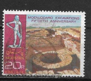 Pakistan, 337, Mohenjo-Daro Excavation Single,**Used** (z3)