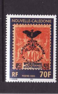 New Caledonia-Sc#913-Unused NH set-Jubilee Issue-2003-