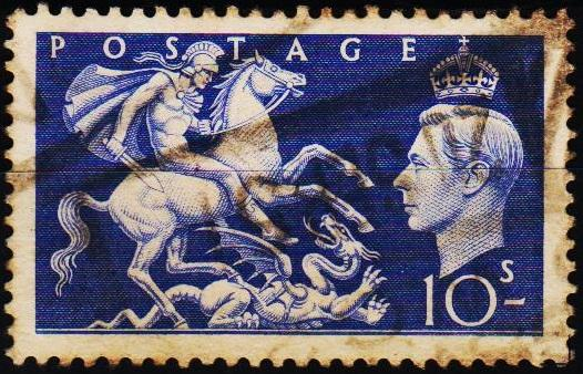 Great Britain. 1951 10s S.G.511 Fine Used